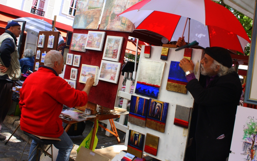 Painters in Paris: Montmartre