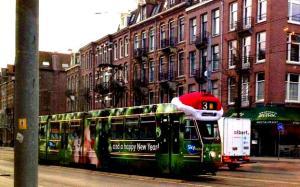 Amsterdam Tram, December 2012 (c) US Consulate, Amsterdam