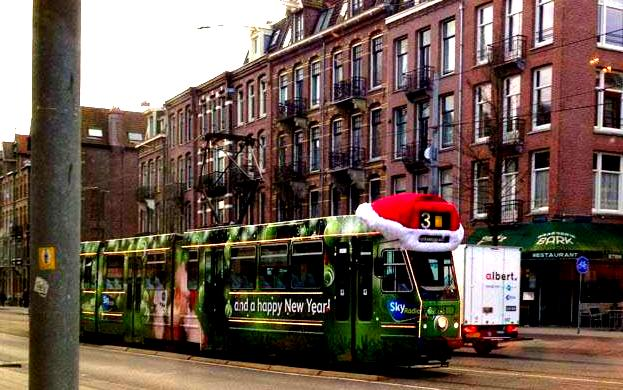 Amsterdam Tram, December 2012(c) US Consulate, Amsterdam