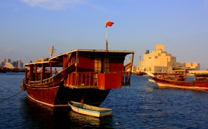 Before the discovery of oil and natural gas, Doha relied on fishing and pearl diving, reminents of its former life are still found today...