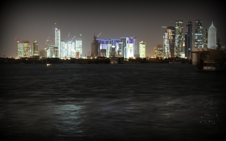 Most of the buildings on Doha's West Bay were built in the last 10 years...