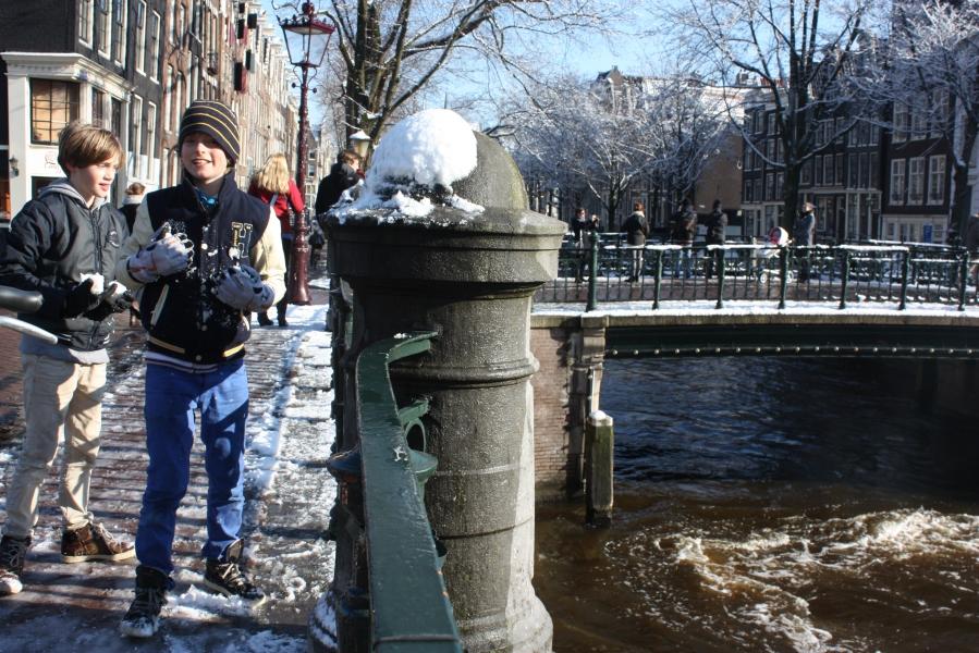 Dutch boys & snow balls: Part 3