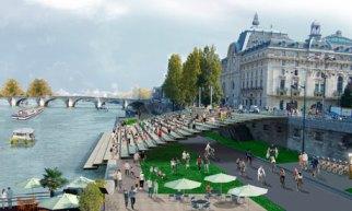Paris pedestrianisation plan