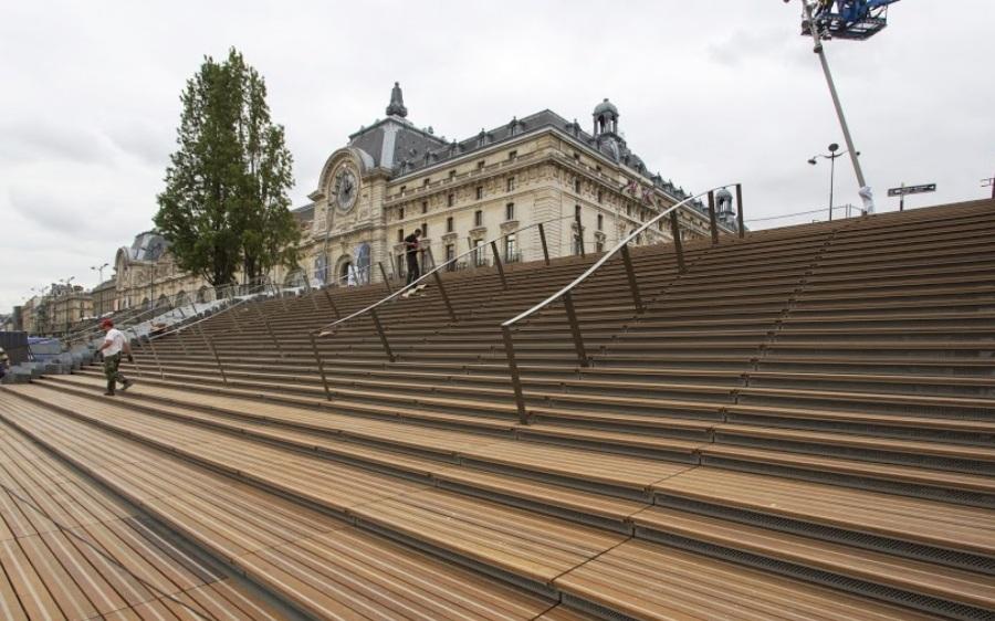 Paris recliams the city (c) Les Berges Homepage