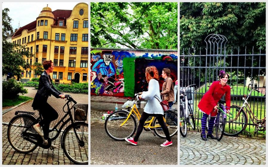 Malmö: Hipster cyclists