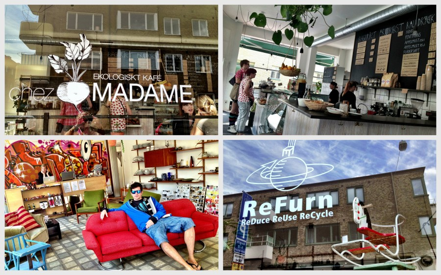 Malmö: more than just local policies, local entrepreneurs and shop owners cater to the eco-concious consumer.