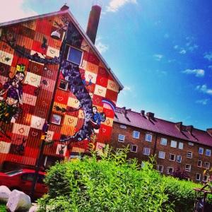 Malmö mural