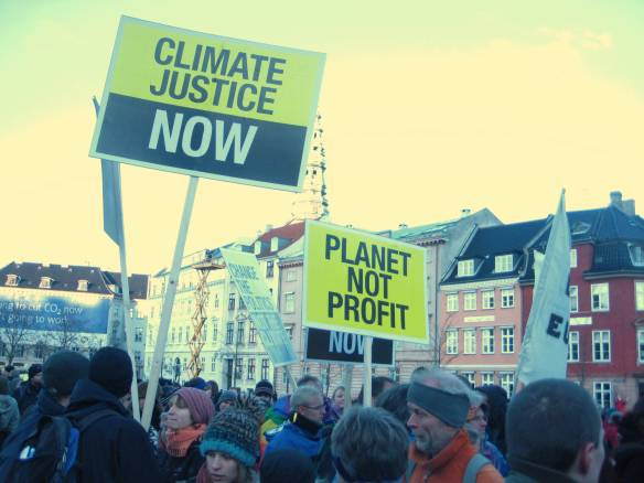 Climate March at 2009's COP15 in Copenhagen (Credit: the author)