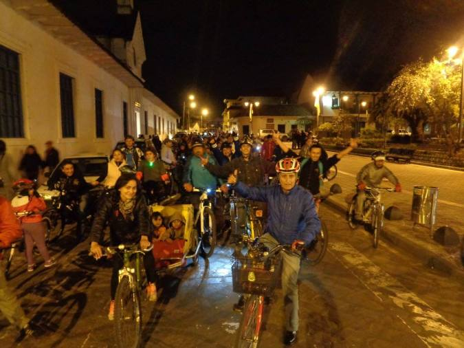 BICICUENCA Thursday´s nights Family Critical Mass copy