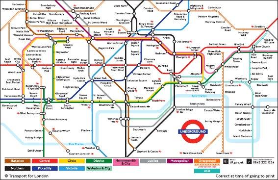 london underground repurposed hello tube cycle