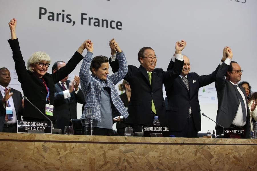 COP21 celebration